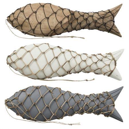 Fish Ass(3x4pcs) 30cm with Raffia & wire
