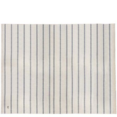 Tablecloth Natural Chambray 160x260 cm Stripe