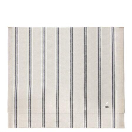 Runner 50x160 cm Naturel Chambray/Stripes Black 2