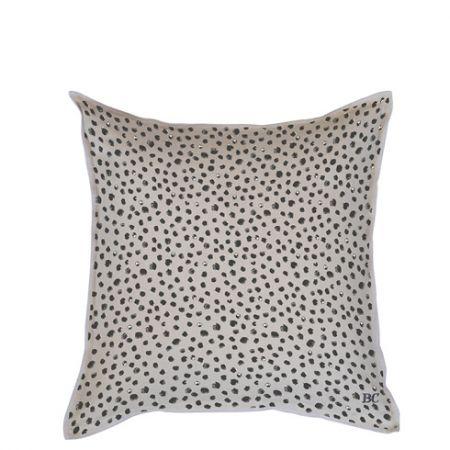 Cushion 50x50 Naturel Chambray Happy Dots