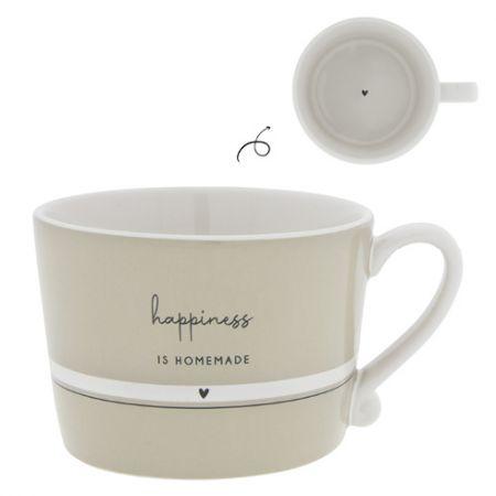 Cup Titane/Hapiness is Homemade 10x8x7cm