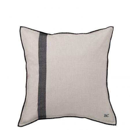 Cushion 50x50 Natural Chambray + Stripe