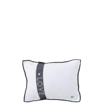 Cushion 25x35 White LOVE