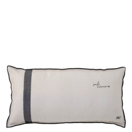 Cushion 35x70 Natural Chambray Smille everyday