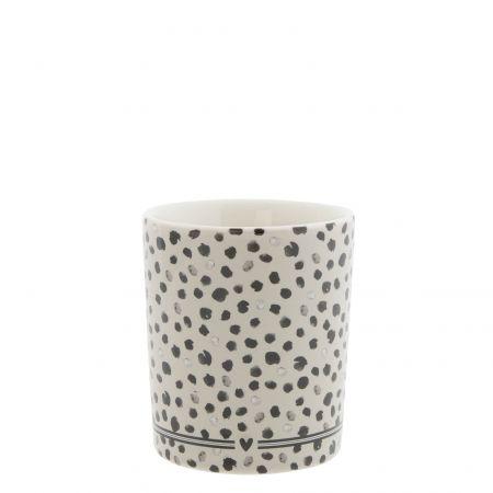 Mug Titane/Confetti 8x8x9cm