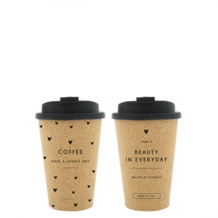 Coffee to go (2x12) Lovely Day & Beauty 12xDia8.5
