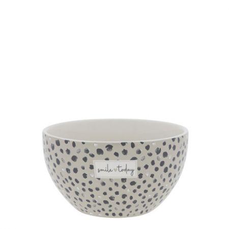 Bowl Titane/Confetti Smile Today Dia 13x7cm