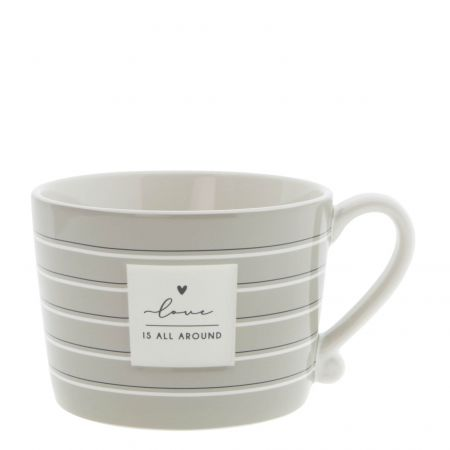 Cup Titane/Love is all Around 10x8x7 cm