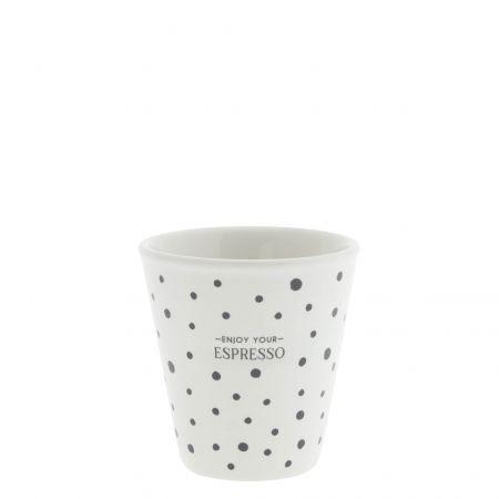 Espresso Paperlook White /Enjoy  4,4x6,2x6,6cm