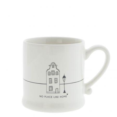 Mug White /No place like Home 8x7cm