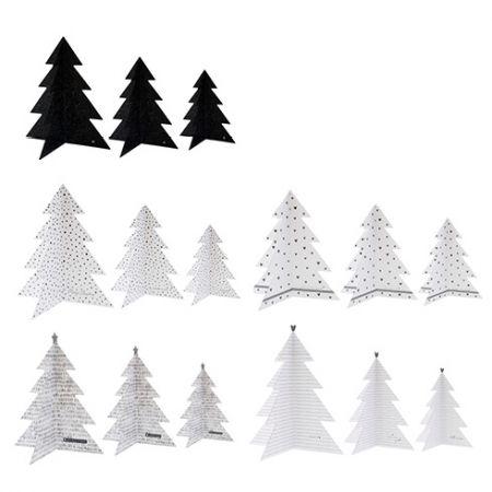 Christmas tree decoration Ass 15x6