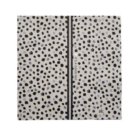 Napkin Titane/Happy Dots 20 pcs 16.5x16.5cm