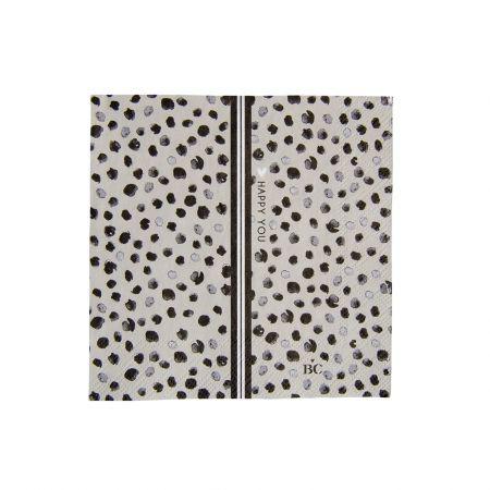 Napkin Titane/Happy Dots 20 pcs 12.5x12.5cm