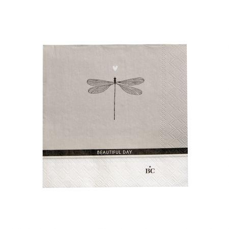 Napkin Titane/Beautiful Day 20 pcs 12.5x12.5cm